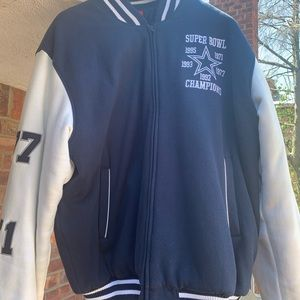New listing: Dallas Cowboys XL Super Bowl Jacket